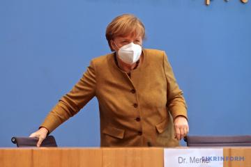 Меркель вакцинировалась AstraZeneca