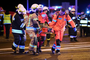 Verkehrsunfall in Polen: Neun Ukrainer in schwerem Zustand