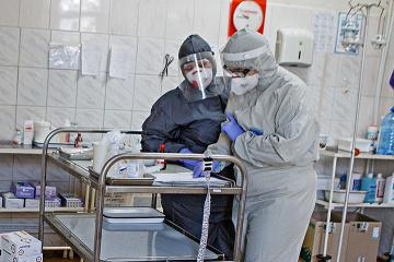 In Ukraine 3.261 neue Coronavirus-Fälle innerhalb von 24 Stunden gemeldet