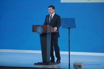 """Zelensky inaugura el foro """"Ucrania 30. Cultura, medios de comunicación, turismo"""""""