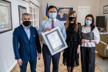 Exteriores confirma un récord mundial por el número de monumentos erigidos a Taras Shevchenko