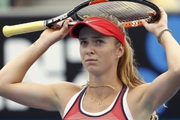 Tennis: Svitolina verliert zweite Runde des WTA-Turniers in Dubai