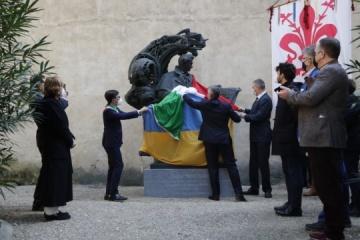 Inaugurado un monumento a Taras Shevchenko en Florencia