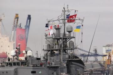 オデーサ港にNATO加盟国の艦船寄港