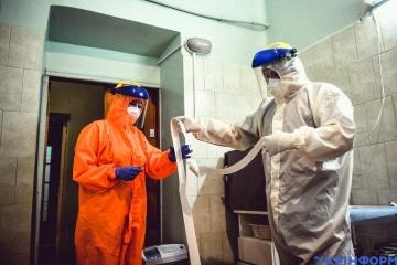 Covid: In der Ukraine Zahl der Neuinfektionen seit vergangenem Tag auf 12.946 gestiegen
