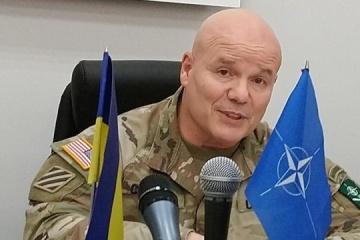 Arriba a Ucrania una delegación del Mando Terrestre Aliado de la OTAN