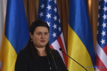 Markarova explica por qué Ucrania no necesita el estatus de un aliado importante extra-OTAN