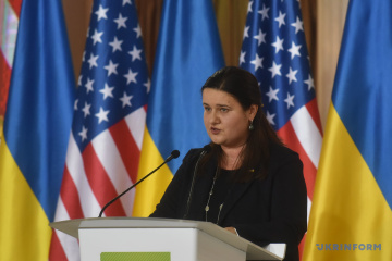 Markarova: Ukraine asks United States to strengthen sanctions against Russia