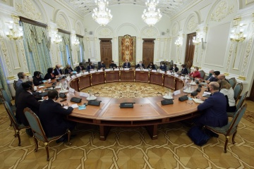 Yermak holds first extended meeting with G20 ambassadors