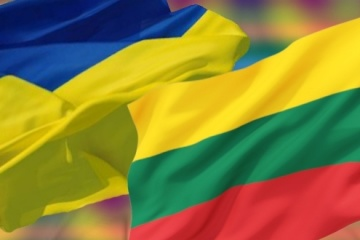 Zelensky greets Lithuania on Independence Day