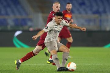 Achtelfinale der UEFA Europa League: Shakhtar verliert sein erstes Spiel gegen Roma