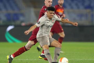 El Shakhtar pierde ante el Roma en el partido de los octavos de final de la UEFA Europa League