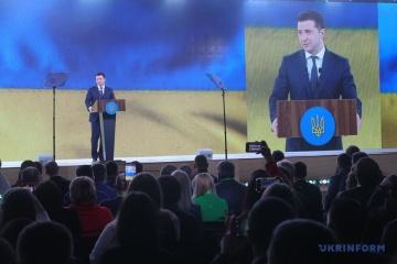 Prezydent wymienił najważniejsze ustawy dla Ukrainy