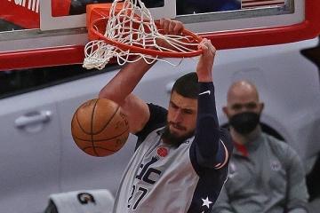 НБА: «Вашингтон» Леня здобув четверту перемогу поспіль, розгромивши «Детройт»