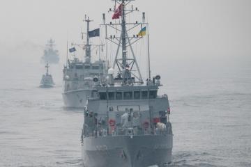 Buques ucranianos y de la OTAN realizan ejercicios conjuntos en el mar Negro