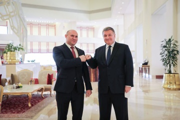 Avakov, Moldovan interior minister discuss cooperation between states