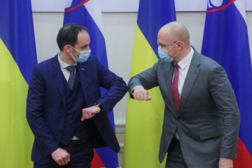 Ukrainian PM, Slovenian FM discuss deepening of bilateral cooperation