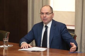 ウクライナのコロナ感染状況は安定し出した=ステパノウ保健相