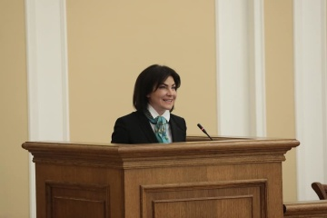 Venediktova meets with Estonian speaker