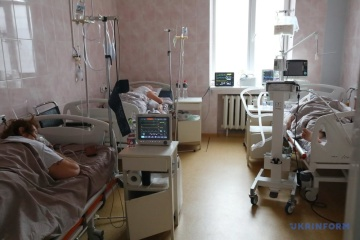 COVID-19 hospitalization rates exceeded in Kyiv and 21 regions – Ministry of Health
