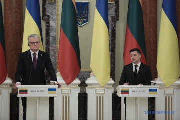 Alarming trends and escalation: Presidents of Ukraine and Lithuania discuss situation in Donbas