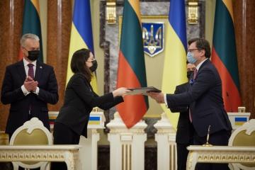 Zelensky et Nausėda signent une déclaration sur la perspective européenne de l'Ukraine