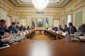 Reforms, situation in Donbas discussed at meeting of Council of Presidents of Ukraine and Lithuania