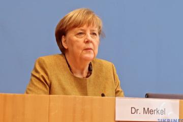 Merkel: Cooperación entre Ucrania y Alemania no se limita a la economía