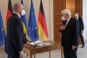 Szmyhal omówił Partnerstwo Wschodnie ze Steinmeierem