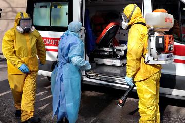 Coronavirus : le nombre de nouveaux cas en Ukraine dépasse 7 800