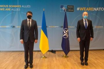 Parlamentspräsident Rasumkow über Ergebnisse seines Besuchs in Brüssel