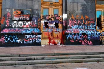 Le gouvernement ukrainien exige que les forces de l'ordre réagissent aux scènes de violence à Kyiv