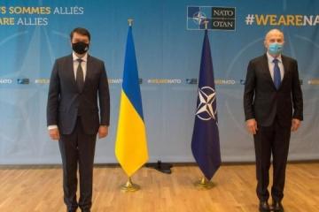 Razumkov: Ucrania espera obtener el MAP en un futuro próximo