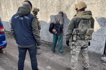 ハルキウ州にて武装集団「LPR」戦闘員拘束