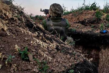 Zehn Angriffe der Besatzer im Donbass binnen 24 Stunden
