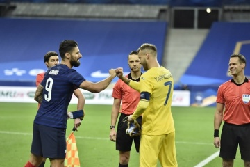 Ukraine startet in WM-Qualifikation gegen Weltmeister Frankreich
