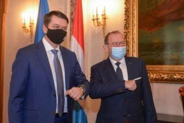 Razumkow spotkał się z przewodniczącym parlamentu luksemburskiego