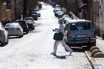Coronavirus en Ukraine : 8 346 nouveaux cas en 24 h