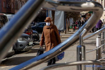 Kyiv city, 10 regions included in 'red zone' - Ministry of Health