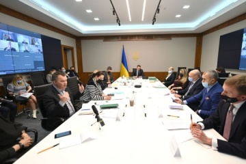Yermak meets with representatives of international business associations