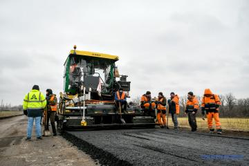 """Programms """"Großbau"""": """"Ukravtodor"""" will 250 Kilometer Autostraßen im westlichen Grenzgebiet sanieren"""