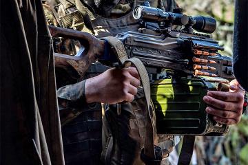 Acht Angriffe der Besatzer in der Ostukraine