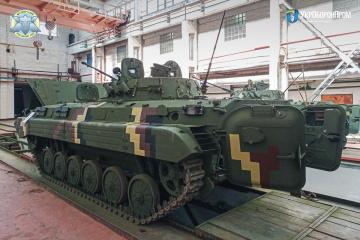 New batch of BMP-2 AFVs delivered to Ukraine's military after major reconstruction