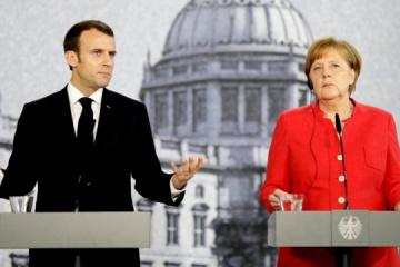 独仏首脳、露大統領とビデオ会談 ウクライナ情勢も協議