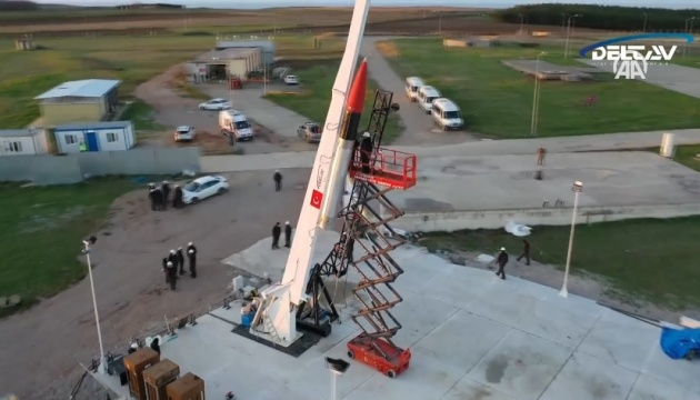 Туреччина розробила гібридну ракету для місії на Місяць