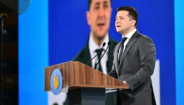 """Zełenski otworzył forum """"Ukraina 30. Rozwój wymiaru sprawiedliwości"""""""