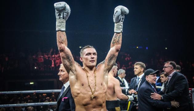 Александр Усик возглавил рейтинг WBA