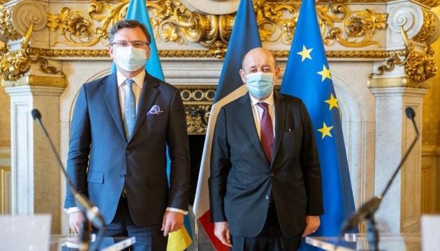 Jean-Yves Le Drian : Les relations économiques entre l'Ukraine et la France se développent de manière très dynamique