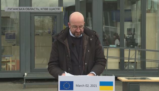 Ukraine kann mit ständiger Unterstützung der EU rechnen - EU-Ratspräsident Michel