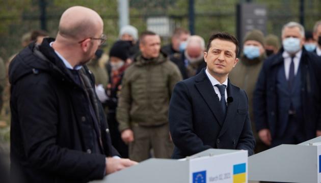 ゼレンシキー大統領、裁判改革支援でEUへ謝意